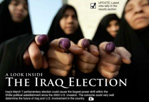 Iraq Votes interactive thumbnail image